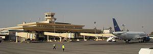 Aleppo International Airport.