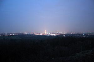Description: Skyline of Berlin form Teufelsber...