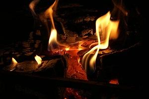fire, flames, burning, heat