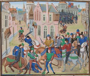 English: The Death of Wat Tyler