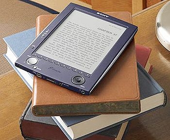 English: A Picture of a eBook Español: Foto de...