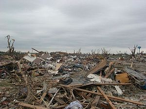 Damage rated EF5 on the Enhanced Fujita Scale,...
