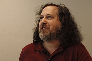 Richard Stallman Founder of GNU Project and Fr...