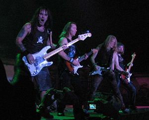 Iron Maiden live in Barcelona, 30 November 200...