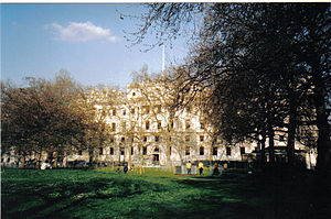 The Treasury building viewed from St. James' Park