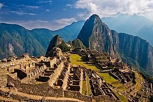 English: Early morning in wonderful Machu Picchu