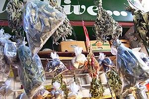 Italiano: Palermo, mercato della Vucciria Engl...