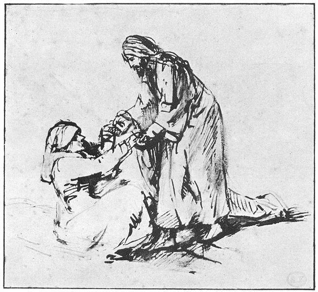 File:Rembrandt Heilung der Schwiegermutter des Petrus.jpg