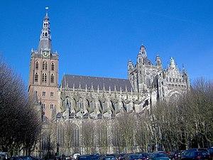 English: St. John's Cathedral, 's-Hertogenbosc...
