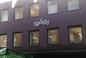 Spotifys huvudkontor på Humlegårdsgatan