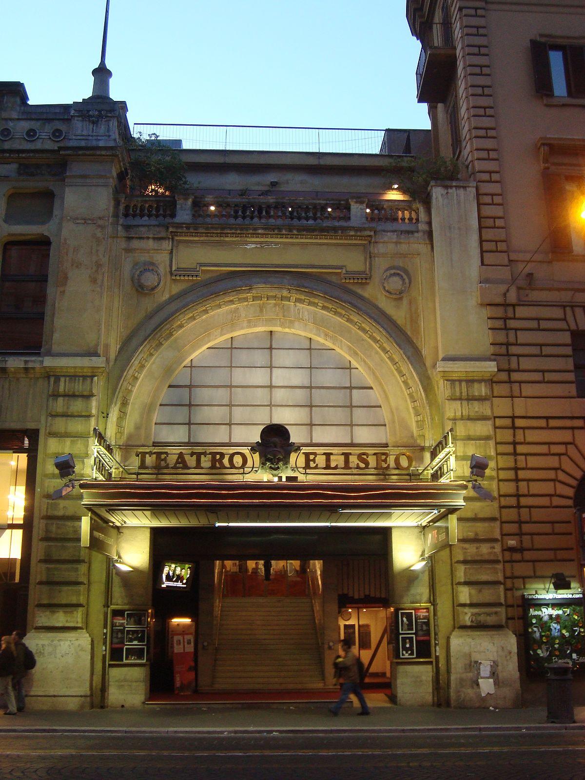 Teatro Eliseo Wikip 233 Dia