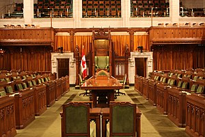 House of Commons, Parliament Hill, Ottawa, Canada