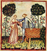 Joy, tacuinum sanitatis casanatensis (XIV century)