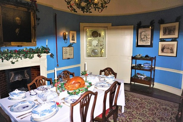 Charles Dickens Dining Room - Joy of Museums 2