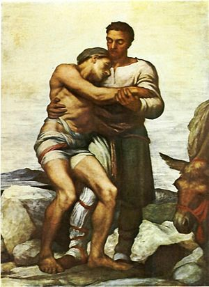 """The Good Samaritan"""