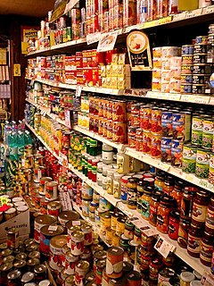 Import canned foods in Kobe