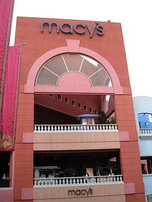 Macy's at Westfield Horton Plaza in San Diego,...