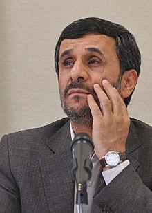 Mahmoud Ahmadinejad, en 2009.