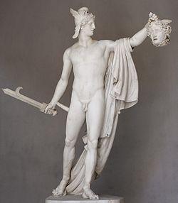 Perseus với cái đầu của Medusa