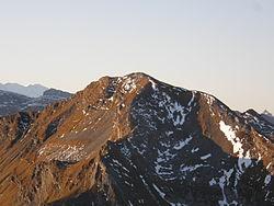 Pointe de Chavanette, 2219 m