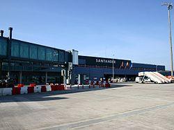 El aeropuerto santanderino de Parayas