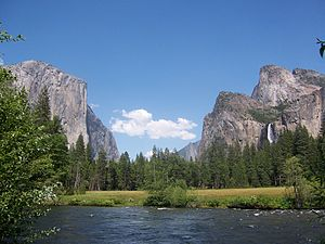Merced River from Yosemite