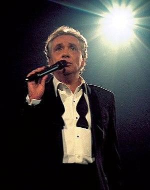 Michel Sardou à Bercy en 1998