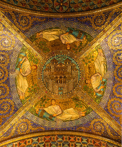 File:Ceiling Civitas Dei, Entrance of the Cathedral, Aachen, Germany.jpg
