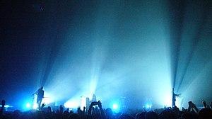 Coldplay-Konzert Hallenstadion Zürich 2005