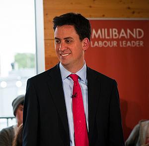 English: Ed Miliband, British politician