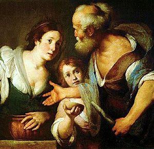 Elijah and the widow of Sarepta