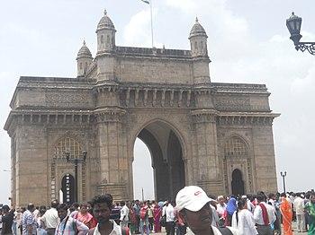 English: Gateway of India, Mumbai, originally ...