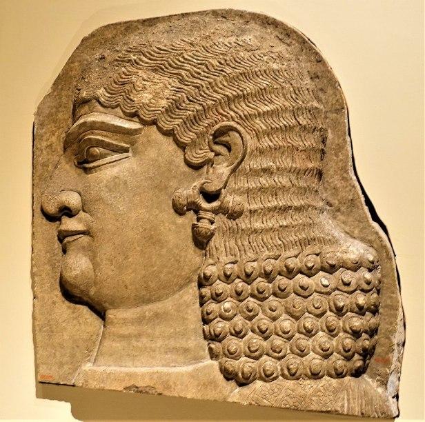 Head of a Beardless Royal Attendant - Eunuch - MET - Joy of Museums