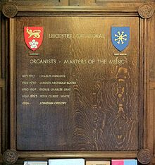 List Of Musicians At English Cathedrals Wikipedia