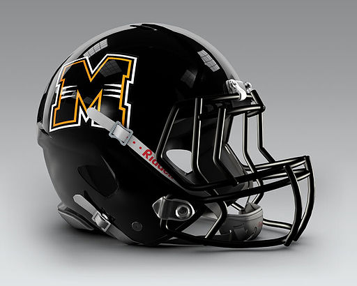 Milwaukee Panthers Football Helmet