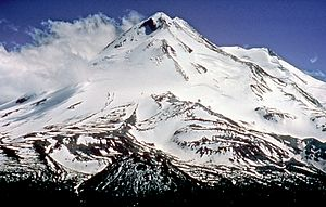 Mount Shasta, looking south (Northern exposure)