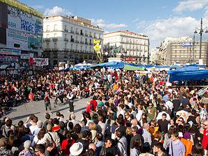 Protestas Puerta del Sol - Madrid - mayo 2011 - 01.jpg