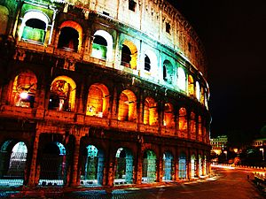 Roman Coliseum (Collesseum), Rome, Italy http:...