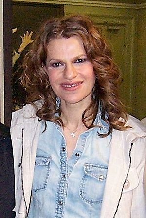 English: Sandra Bernhard at Daryl Roth Theatre...