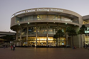 English: Sydney Convention Centre at Darling H...