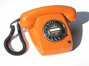 Beschreibung: Post Telefon Fe TAp 615 Quelle: ...