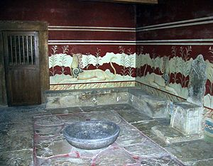 Throne Hall Knossos