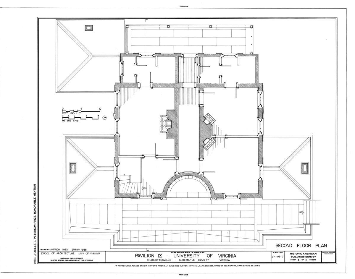 File University Of Virginia Pavilion Ix West Lawn