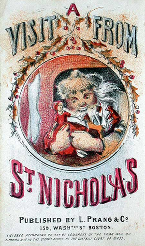 Visit from St. Nicholas. Illus. by Louis Prang