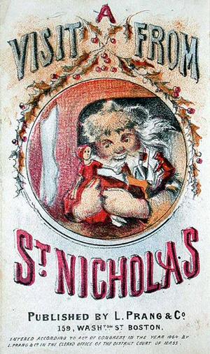 Visit from St. Nicholas. Illus. by Louis Prang