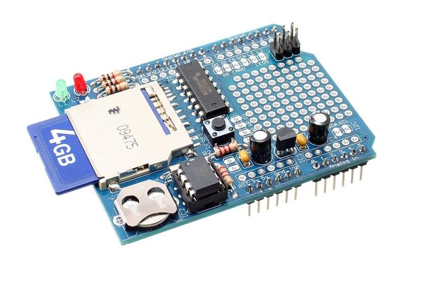 Shield Adafruit Datalogging