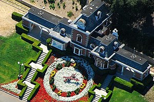 Aerial photo of the train station on Neverland...