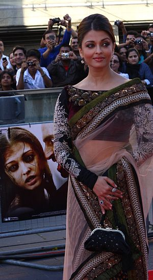aishwarya at London primiere of Raavan