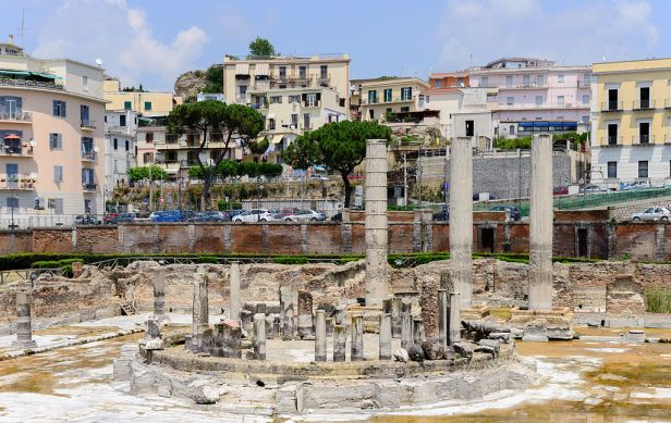 Ancient Roman market place and Serapis temple - Pozzuoli - Campania - Italy - July 11th 2013 - 03
