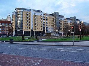 English: BBC Studios, Hull This smart building...
